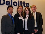Deloitte case competition team