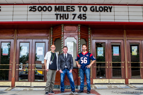 Rhett Grametbauer recorded his epic football journey in the memoir 25,000 miles to glory and in a doucmentary film co-produced by nfl films