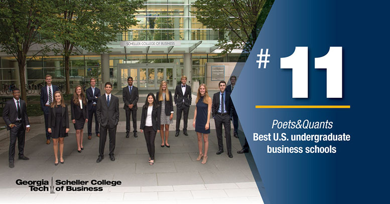 Poets & Quants #11 Best Undergraduate Business Program in the country