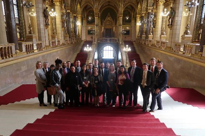 The Hungary course had a special focus on international business development, and the MBA students were able to visit Parliament to meet major political leaders.