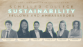 An information panel to learn more about the Sustainability Fellows and Ambassadors Program