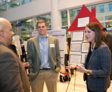 Attend the poster showcase and reception of the Ideas to SERVE Competition to learn about innovative business concepts that could help improve society or preserve the environment.