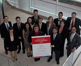 An interdisiciplinary team of Georgia Tech students won Bank of America's Campus Challenge.