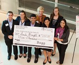 Smile Bright received a $5,000 prize as winner of the Ideas Track in the Ideas to Serve Competition.