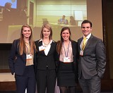 Georgia Tech placed third out of 250 teams in the world in the Deloitte Case Competition.