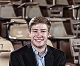 Sean Flynn looks forward to working for JP Morgan in New York City after graduation.