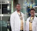 Chima Odinkemere and Candice Blacknall have been accepted into Georgia Tech's CREATE-X program to work on their company GABA.