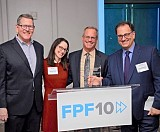 Peter Swire (third from left) with FPF Outstanding Achievement Award