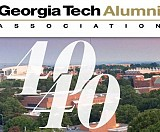 Alumni Association 40 Under 40 logo