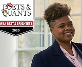 "Diana Nichols (MBA 2020) was selected as one of Poets & Quants' ""2020 Best & Brightest MBAs""."