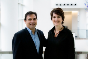 Center Managing Director Michael Oxman and Center Faculty Director Beril Toktay
