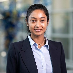 Shrinka Roy, MBA student