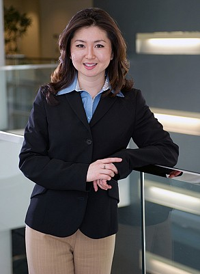 Heather Y. Kim will start work in Eaton Corporation's Global Leadership Development Program after graduation in May.