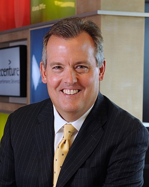Scheller alumnus David Rowland, CFO of Accenture, maintains close personal and professional ties to Georgia Tech.
