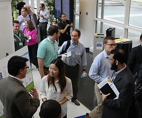 The 2015 Business Analytics and Big Data Forum drew nearly 300 attendees, including industry leaders.
