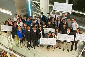 I2S finals were held on April 8 in the Scheller College of Business.