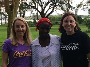 Ashley Vanderpoel helps women in developing countries through Coca-Cola's 5by20 program.