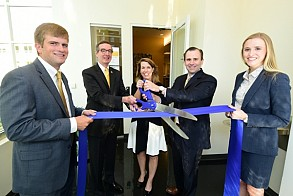 Scheller College celebrated the undergraduate suite reopening with SunTrust guests, students, faculty and staff in spring 2016.