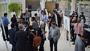 Carbon Reduction Challenge (CRC) Poster Expo and Celebration at Scheller College of Business.