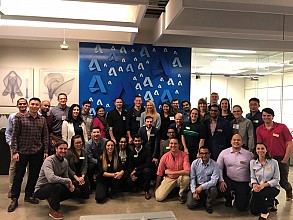 Scheller MBA students visited Autodesk and other companies on the annual West Coast Tech Trek.