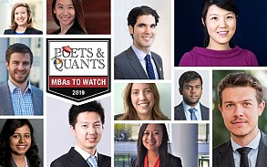 Michelle Albert, Maggy Deiters, and Luke Wareham Selected as MBAs to Watch in 2019